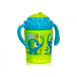 Παγούρι με καλαμάκι Mωβ 200 ml mini sport sipper animals Lorelli Bertoni