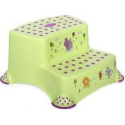 Lorelli Double Step Stool - Σκαλάκι Μπάνιου Hippo Green