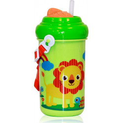 Παγουρίνο Toddler Zoo Green 6+m Lorelli Bertoni 360ml