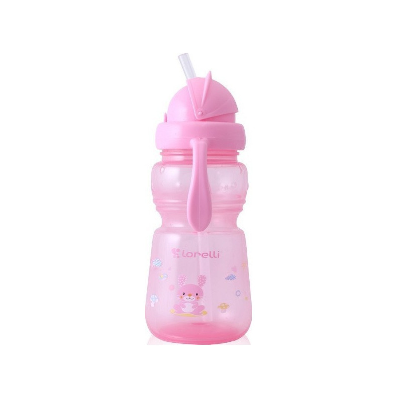 Παγούρι με καλαμάκι Mπλέ 200 ml mini sport sipper animals Lorelli Bertoni