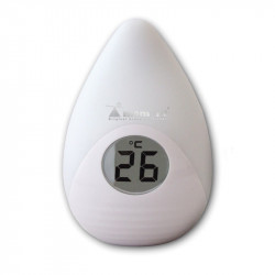 Momert 1762 night light and room thermometer